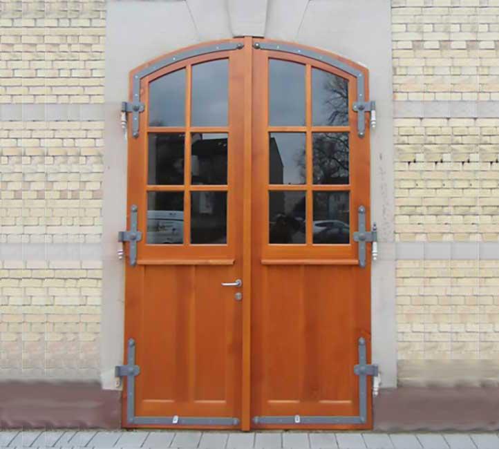Türen und Glas